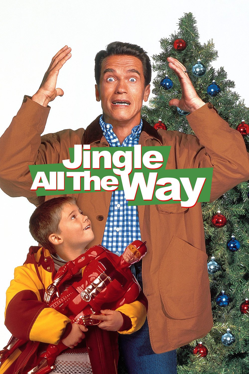 """Poster for the movie """"Jingle All the Way"""""""