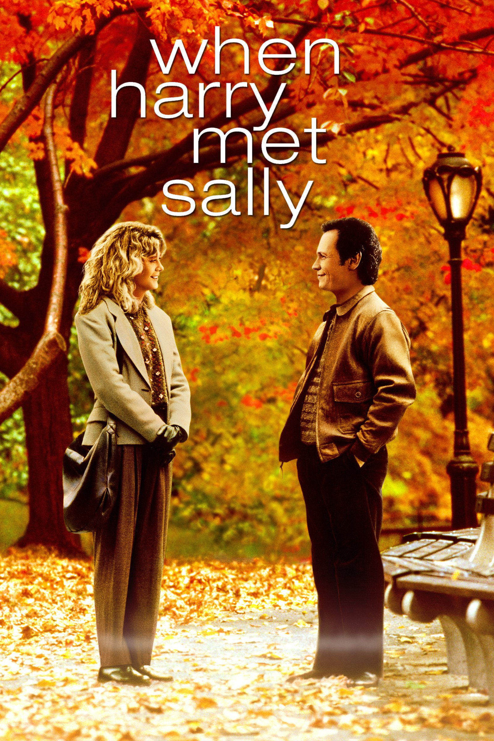 "Poster for the movie ""When Harry Met Sally..."""