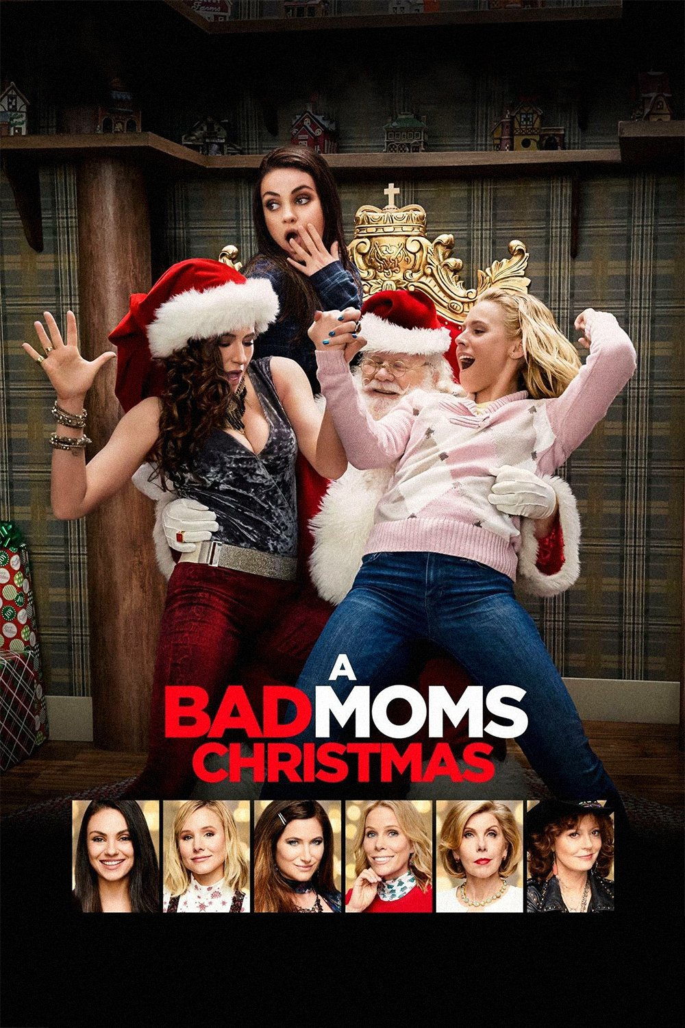 """Poster for the movie """"A Bad Moms Christmas"""""""