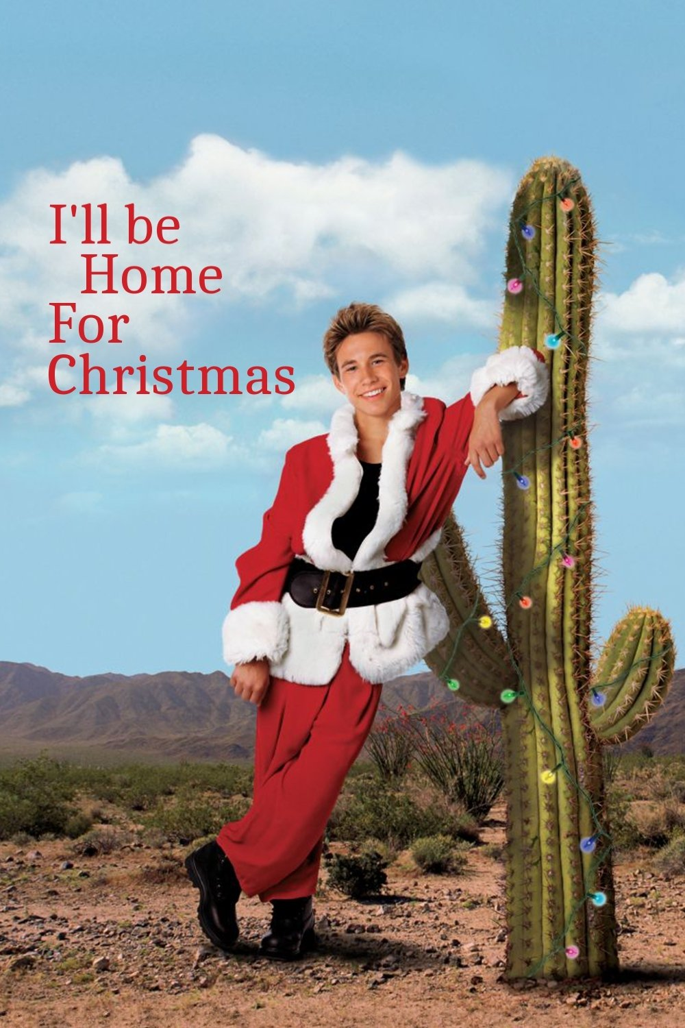 """Poster for the movie """"I'll Be Home for Christmas"""""""