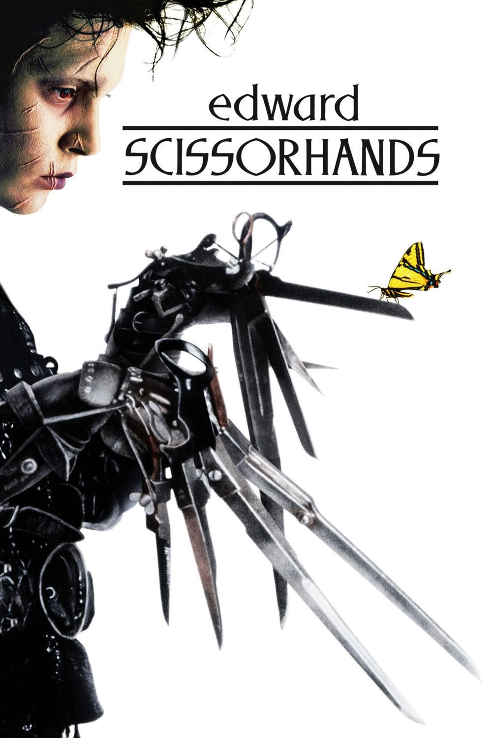 """Poster for the movie """"Edward Scissorhands"""""""