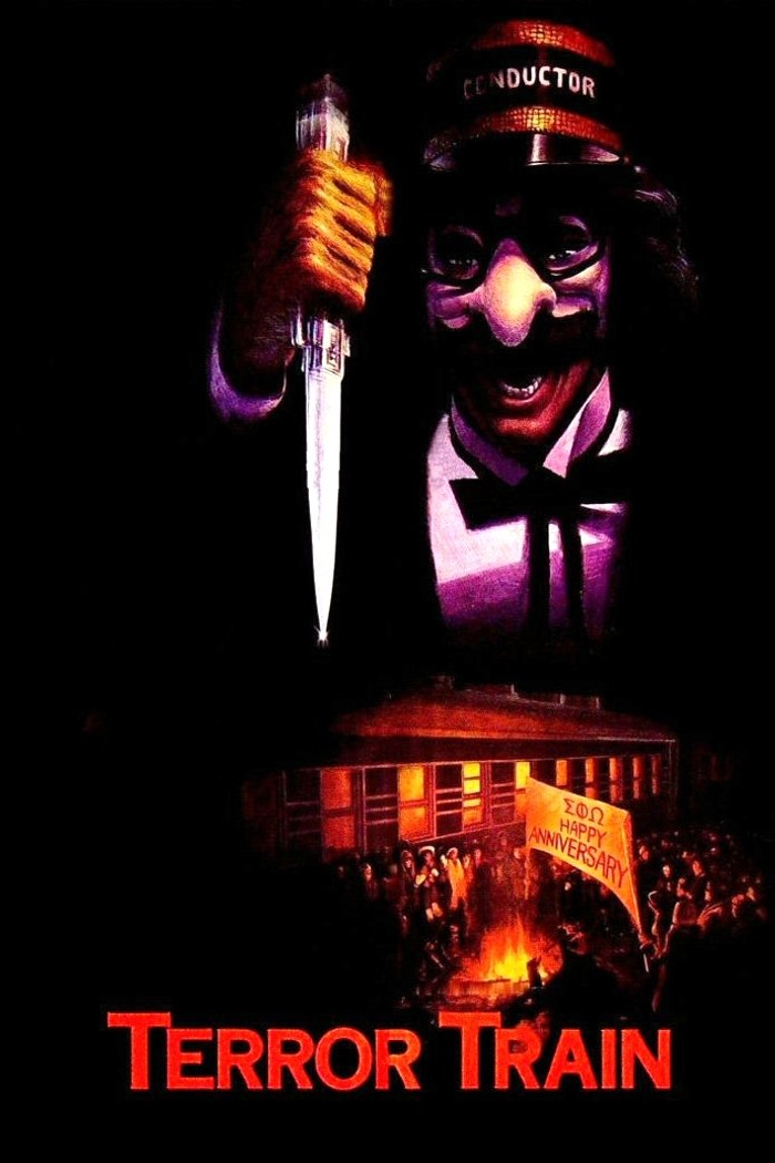 """Poster for the movie """"Terror Train"""""""