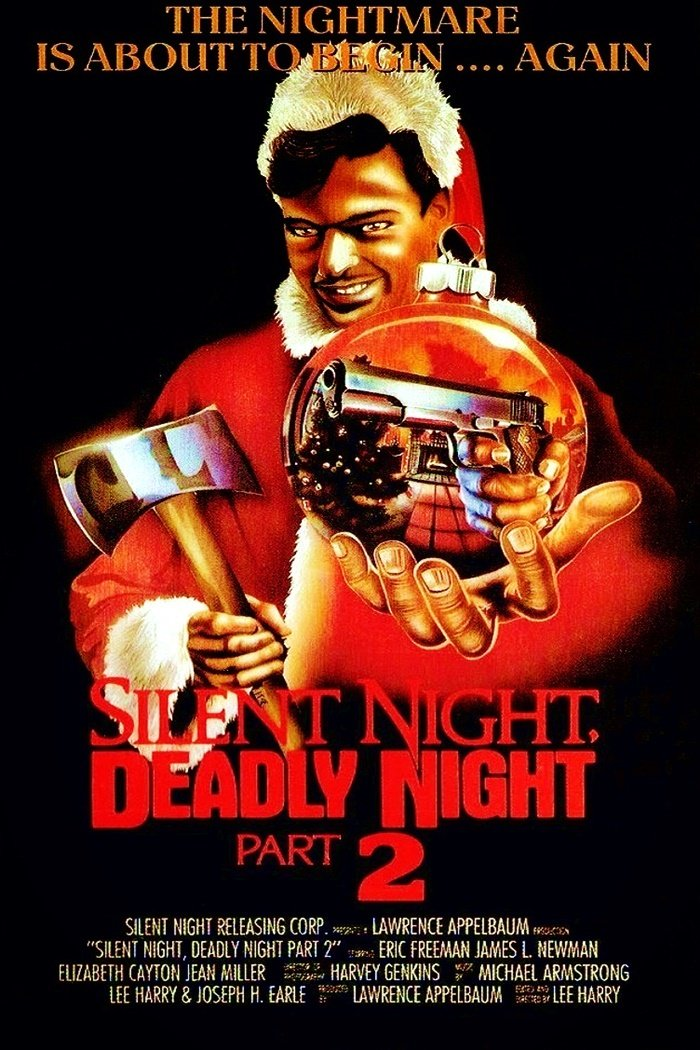 """Poster for the movie """"Silent Night, Deadly Night II"""""""