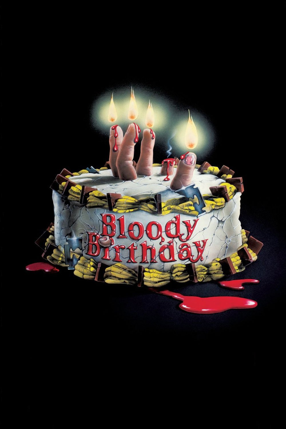 "Poster for the movie ""Bloody Birthday"""
