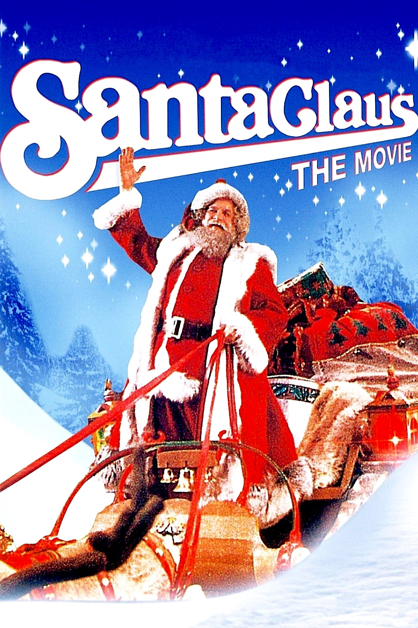 """Poster for the movie """"Santa Claus: The Movie"""""""