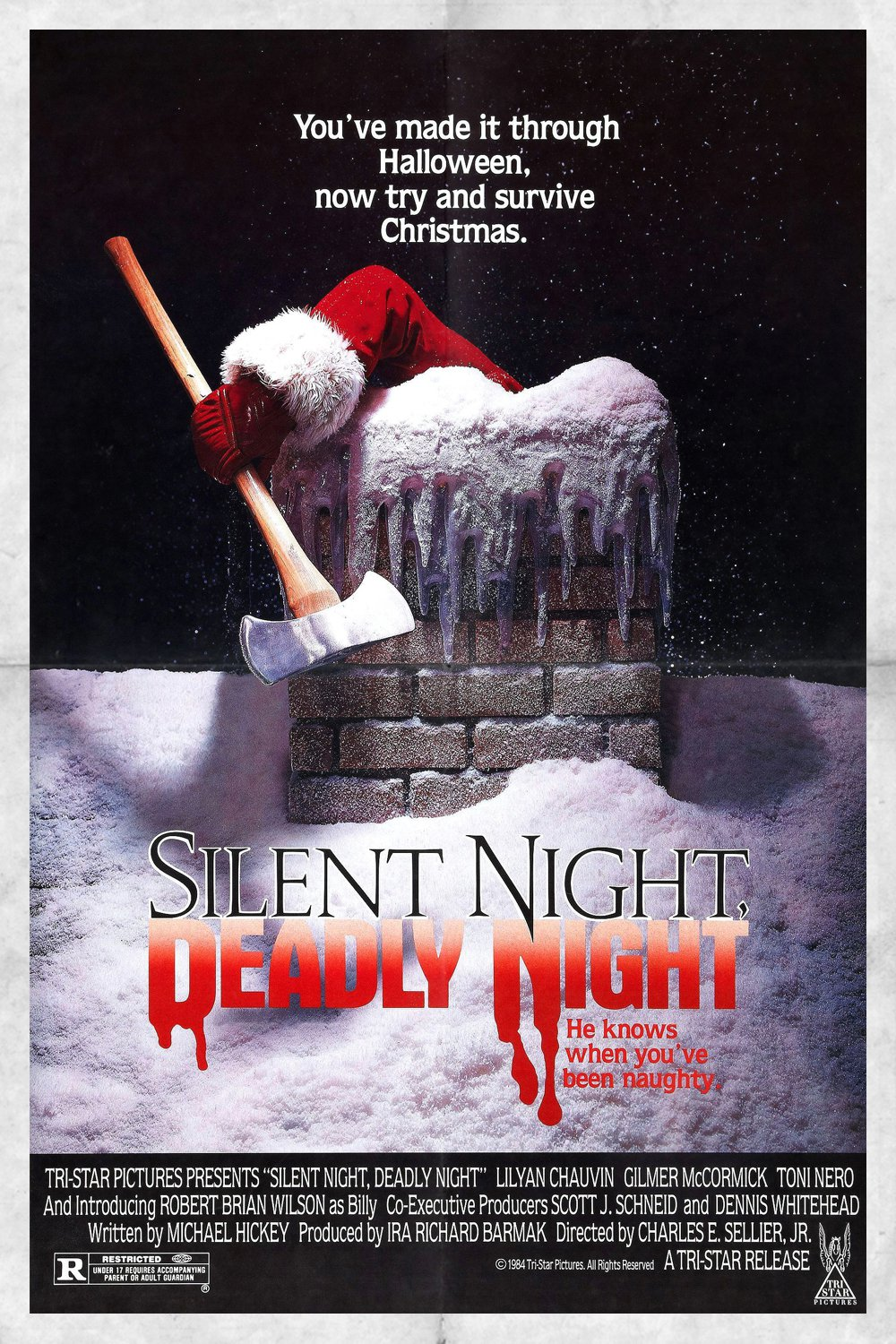 """Poster for the movie """"Silent Night, Deadly Night"""""""