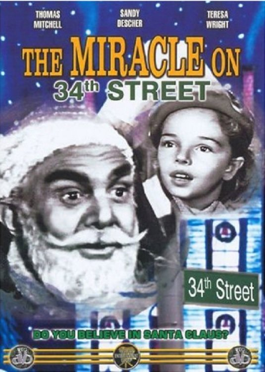 """Poster for the movie """"The Miracle on 34th Street"""""""