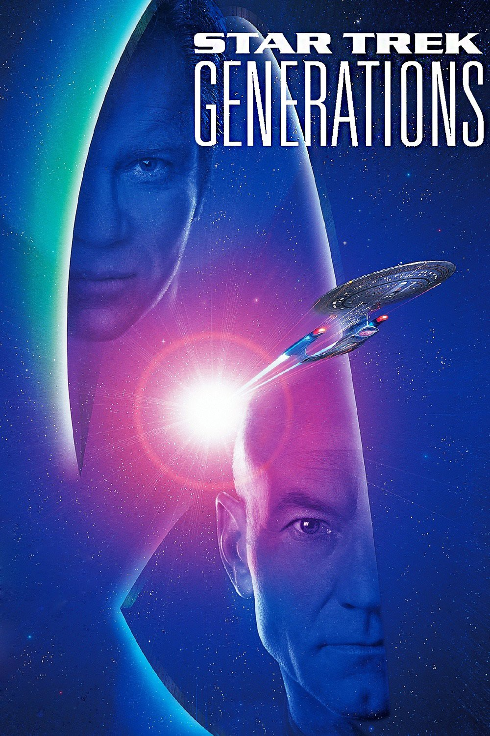"Poster for the movie ""Star Trek: Generations"""
