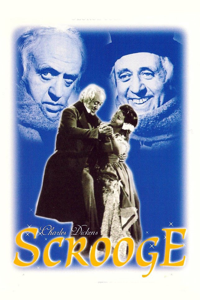"""Poster for the movie """"Scrooge"""""""