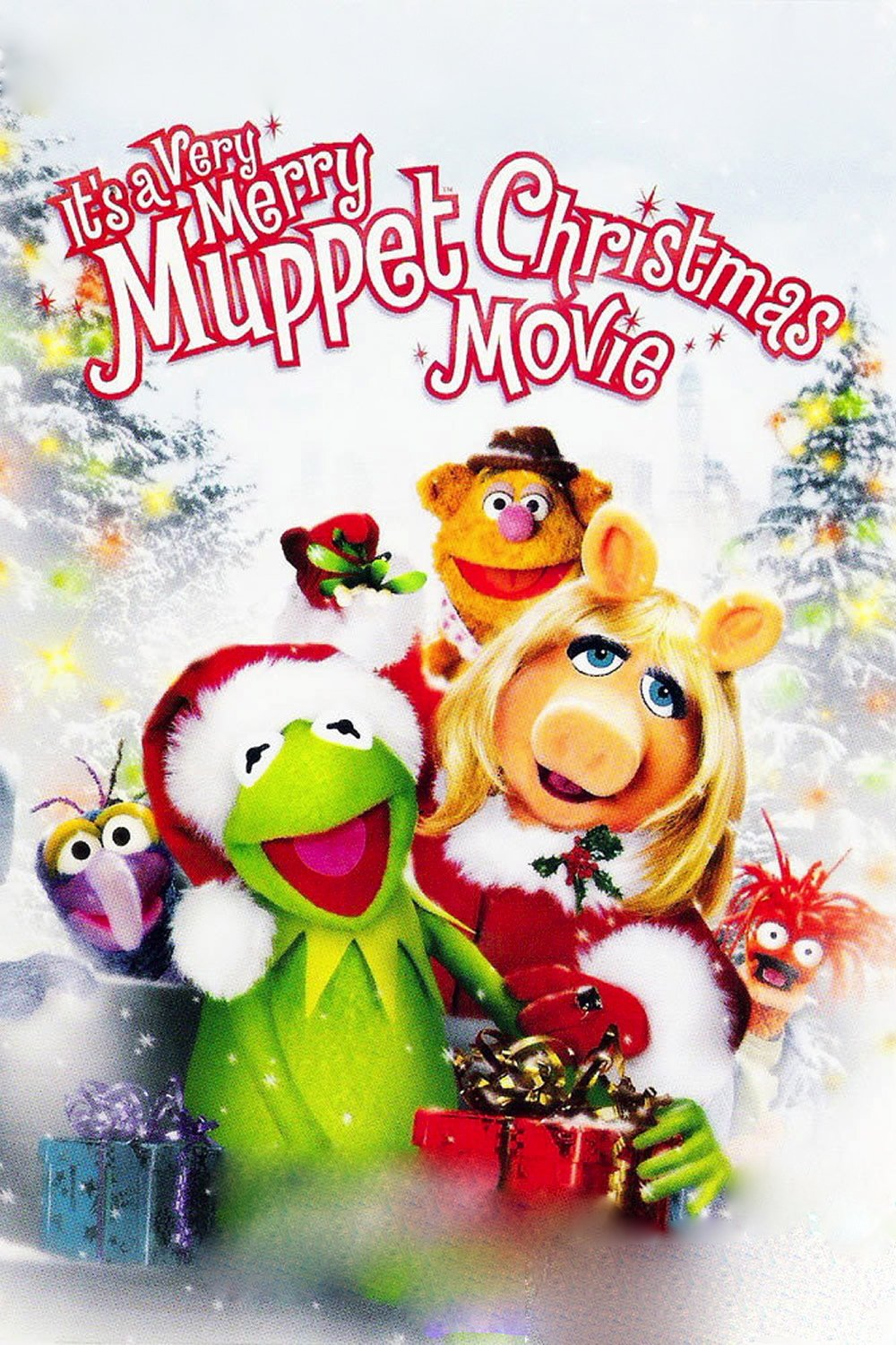 """Poster for the movie """"It's a Very Merry Muppet Christmas Movie"""""""