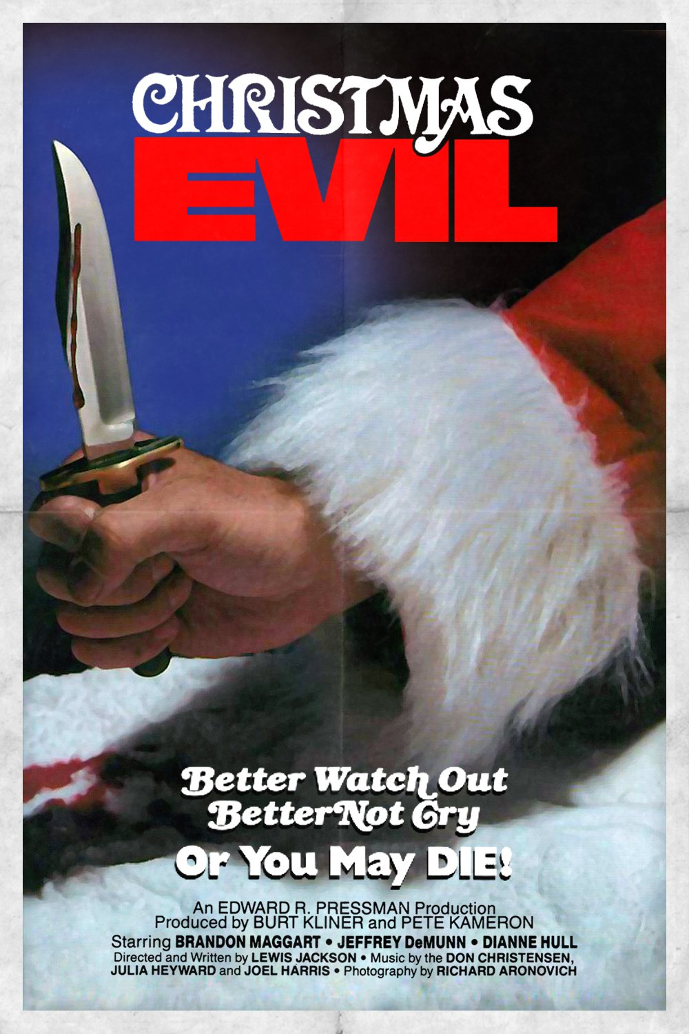"""Poster for the movie """"Christmas Evil"""""""