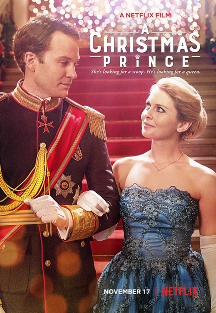 """Poster for the movie """"A Christmas Prince"""""""