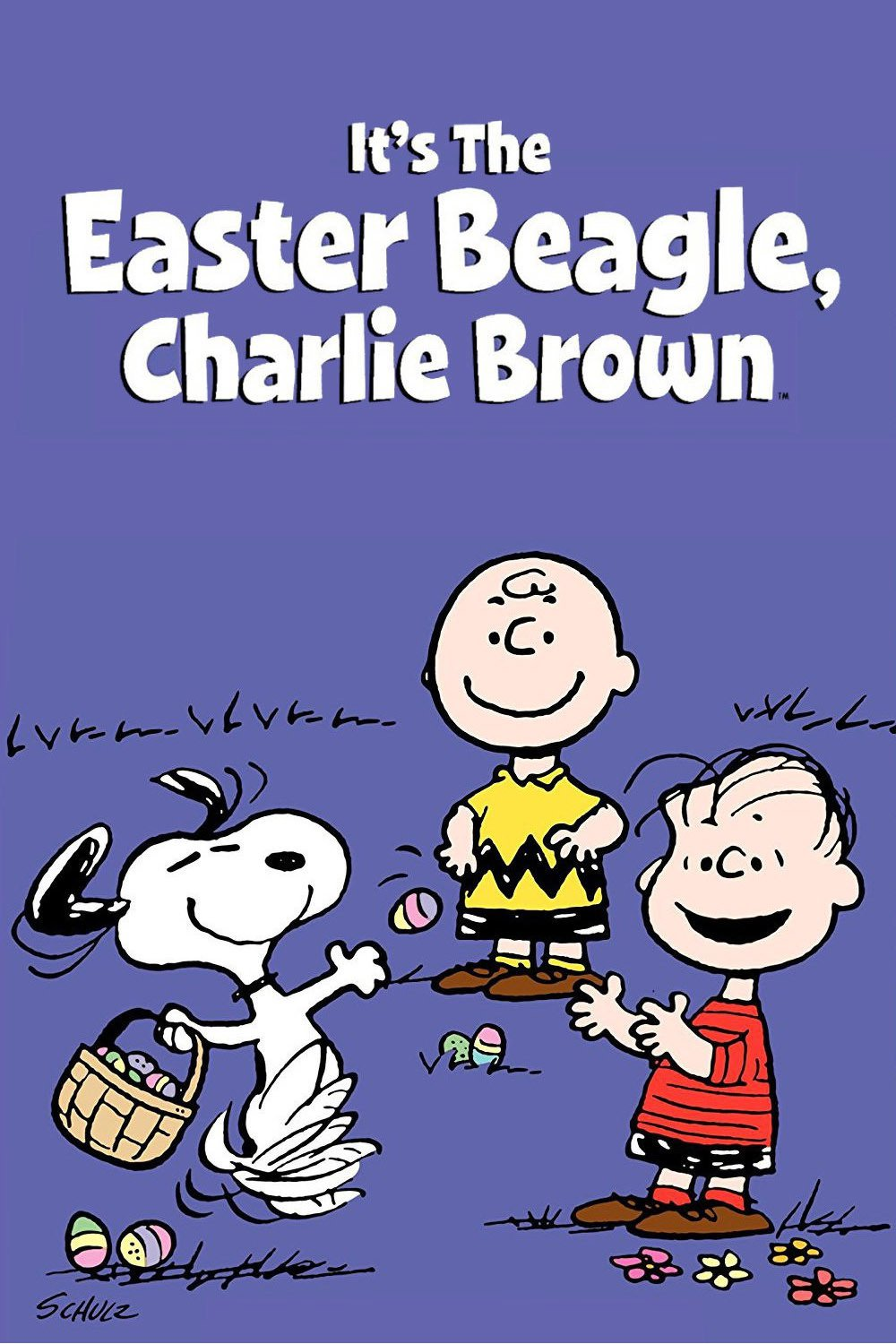 """Poster for the movie """"It's the Easter Beagle, Charlie Brown"""""""