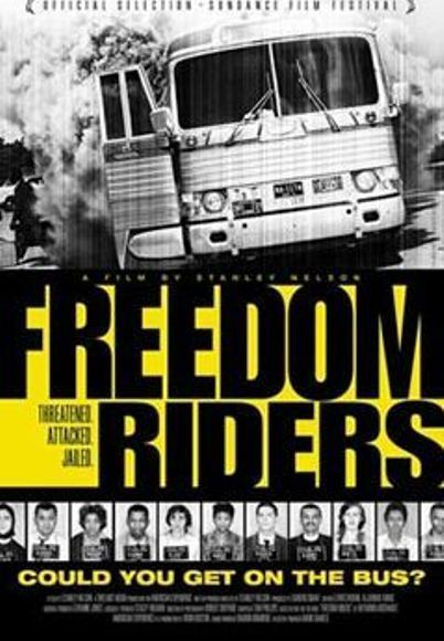 "Poster for the movie ""Freedom Riders"""