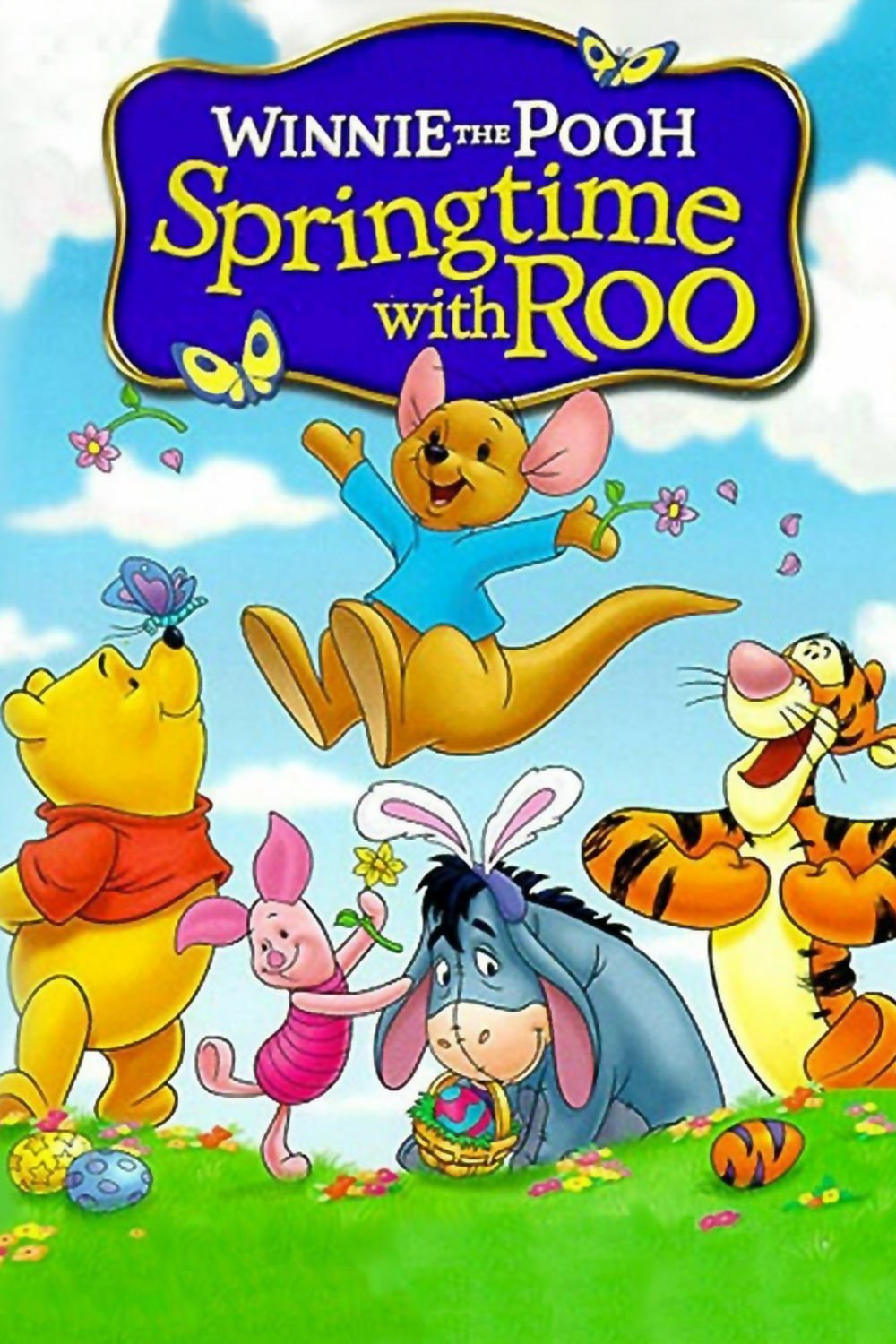 """Poster for the movie """"Winnie the Pooh: Springtime with Roo"""""""