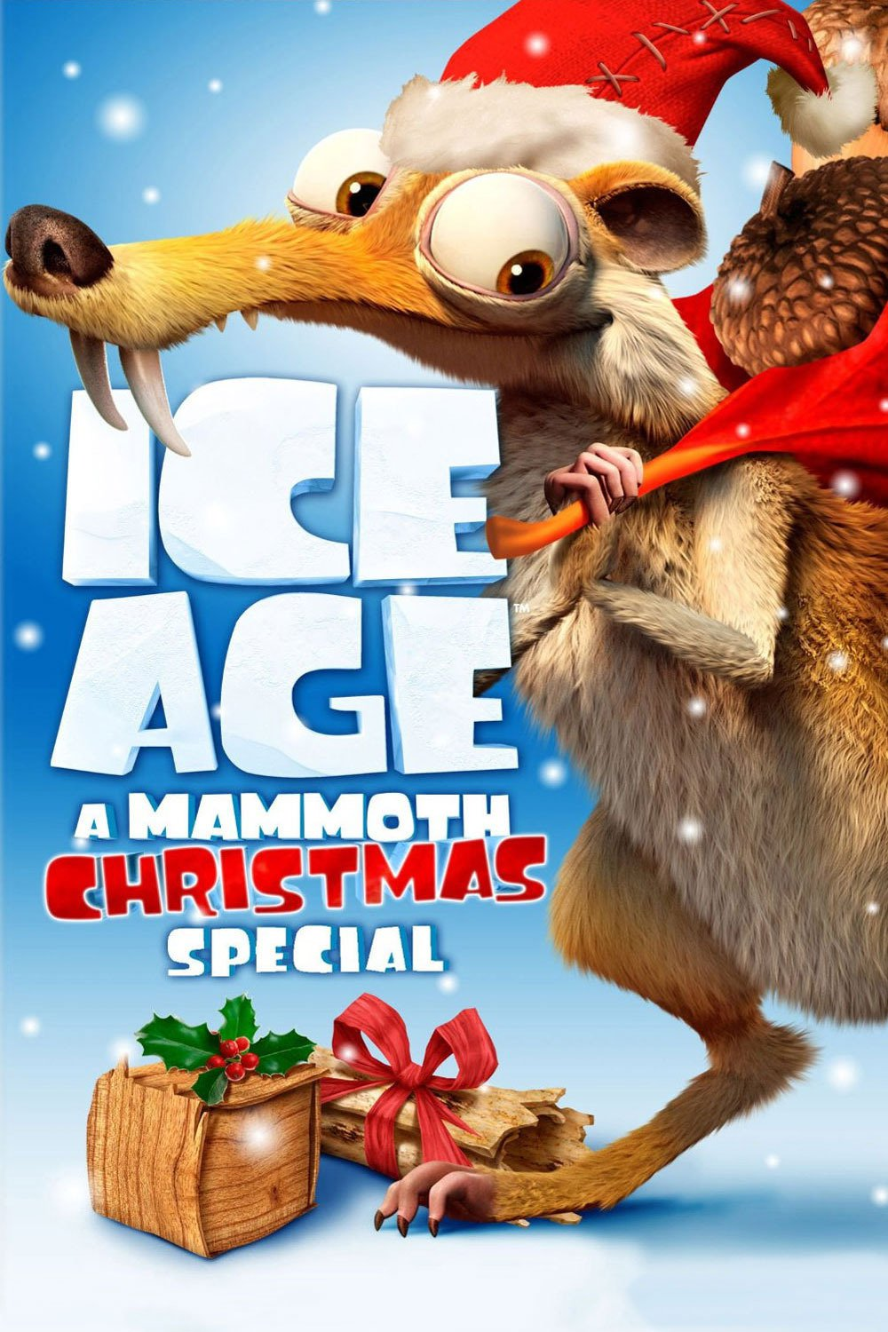 "Poster for the movie ""Ice Age: A Mammoth Christmas"""