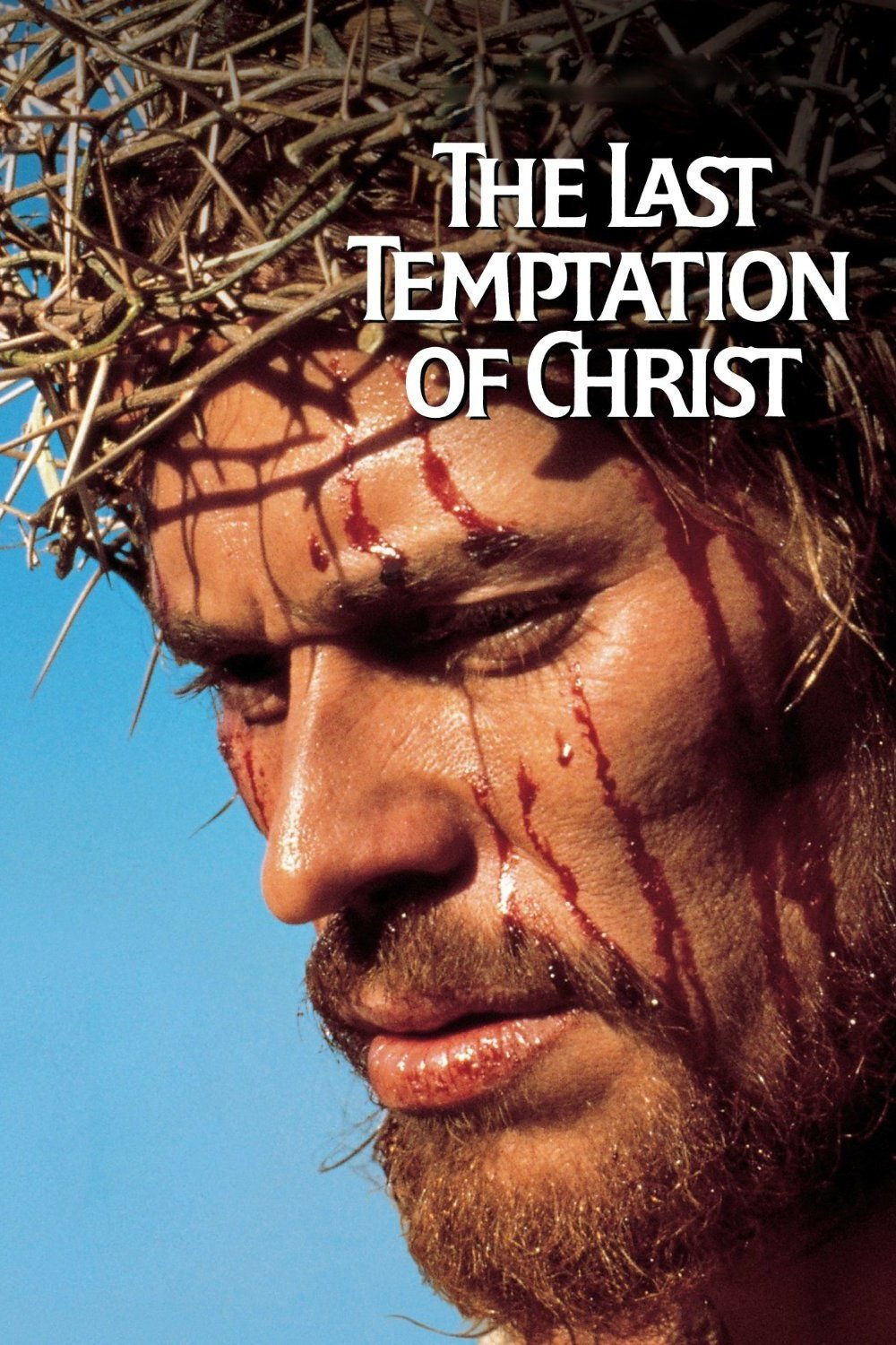 "Poster for the movie ""The Last Temptation of Christ"""