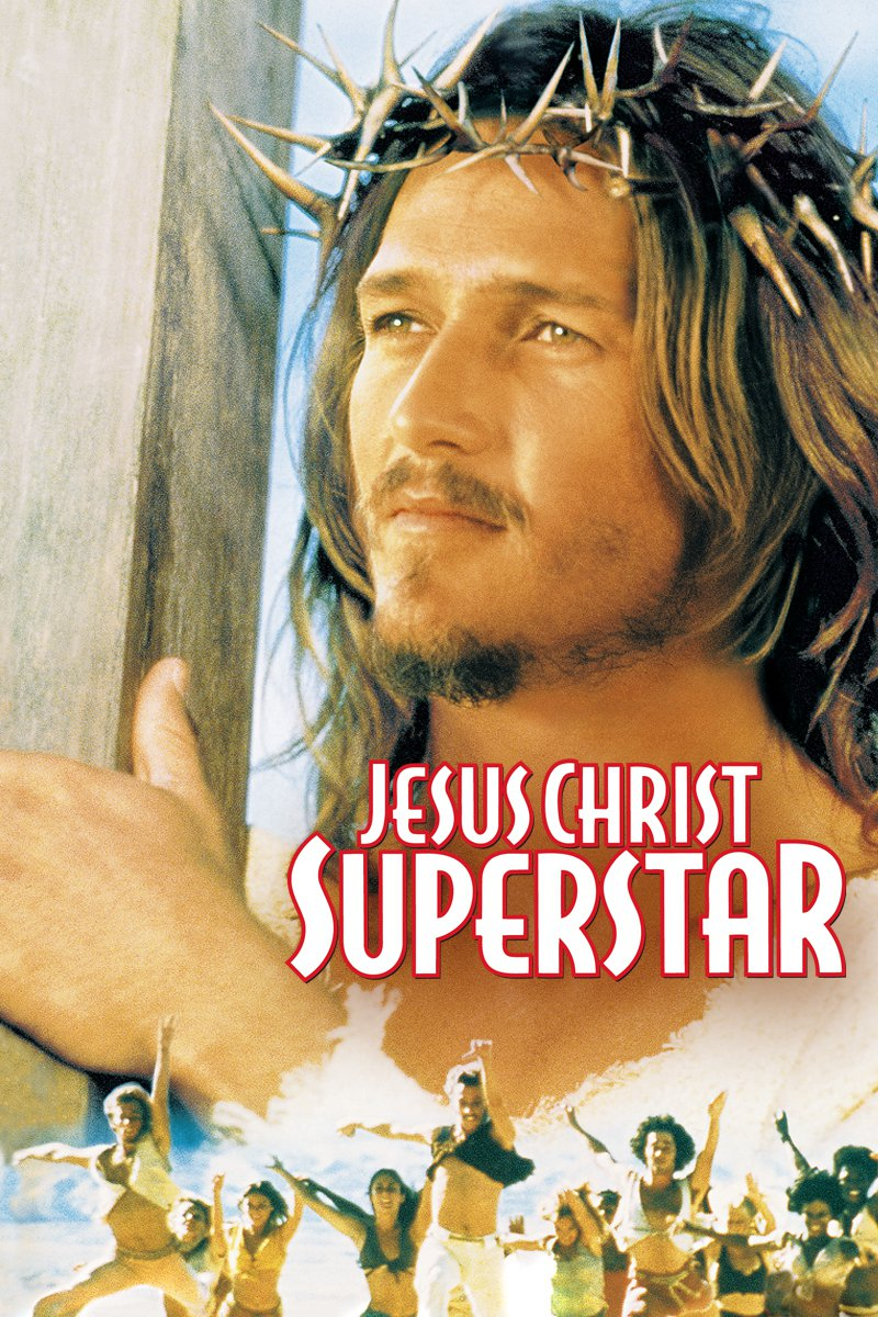 "Poster for the movie ""Jesus Christ Superstar"""