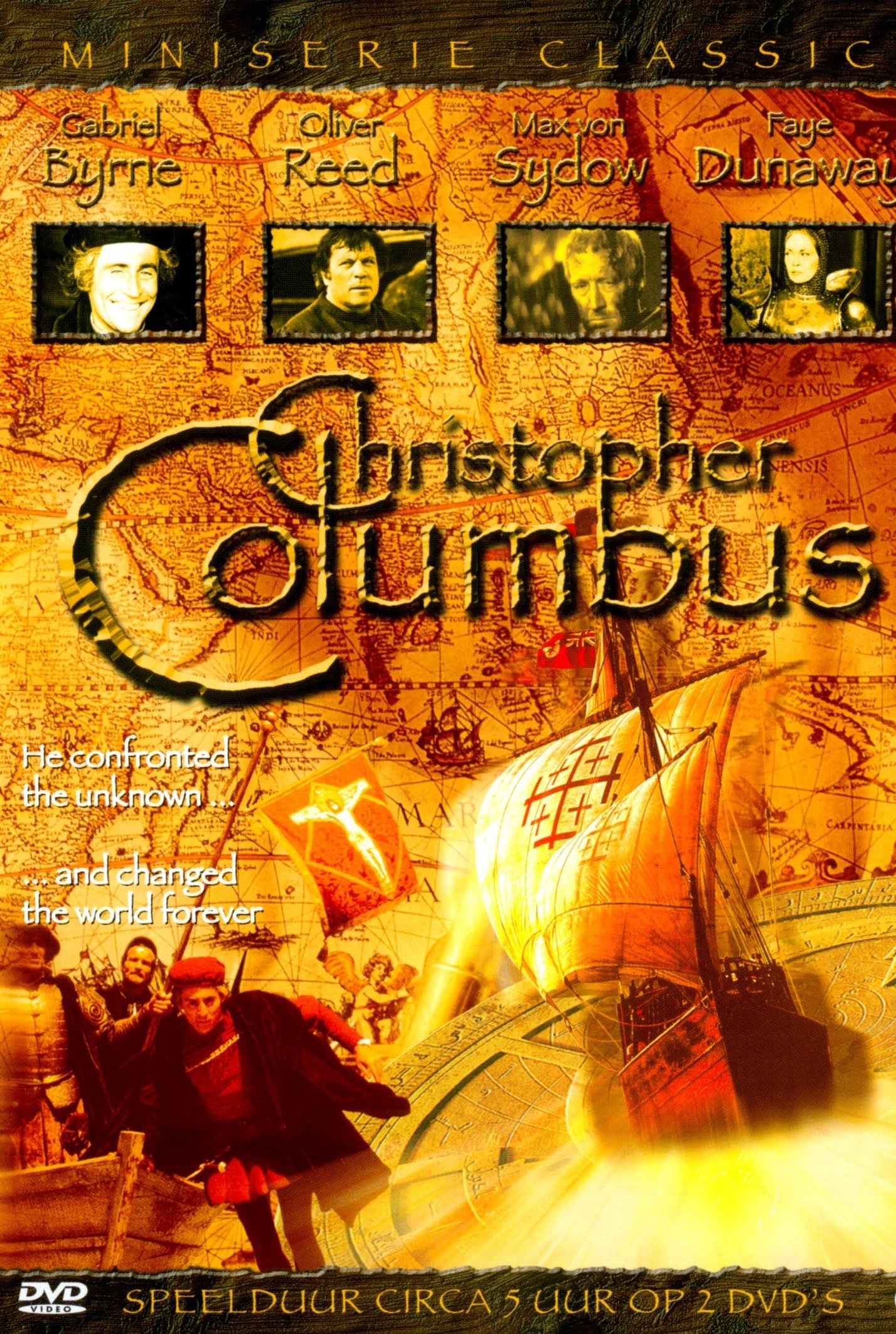 "Poster for the movie ""Christopher Columbus"""