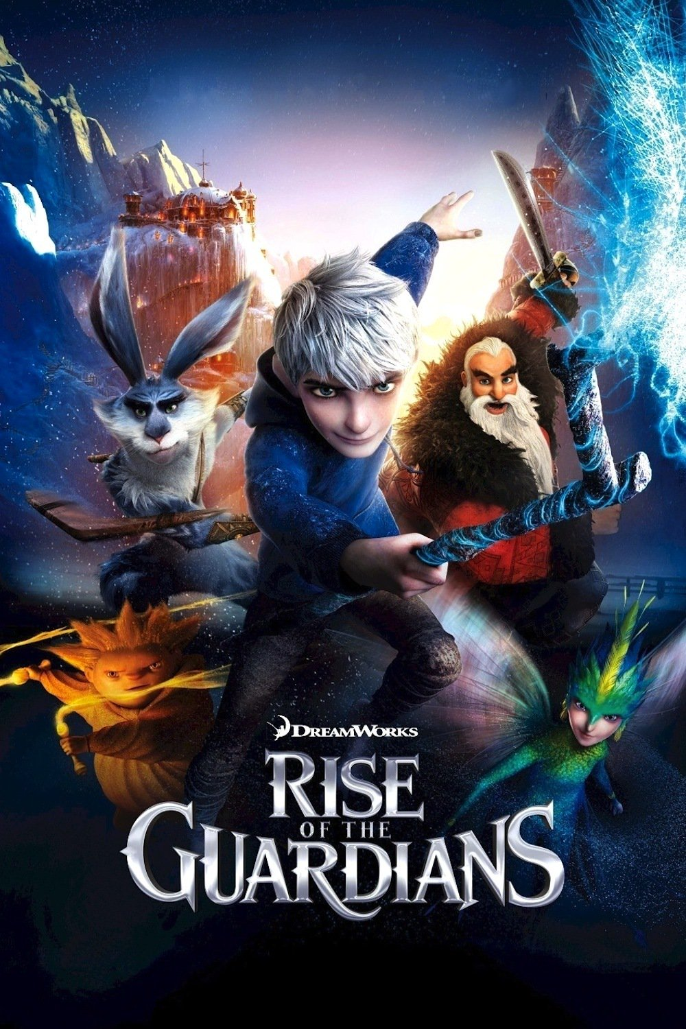 "Poster for the movie ""Rise of the Guardians"""