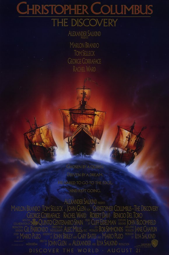 "Poster for the movie ""Christopher Columbus: The Discovery"""