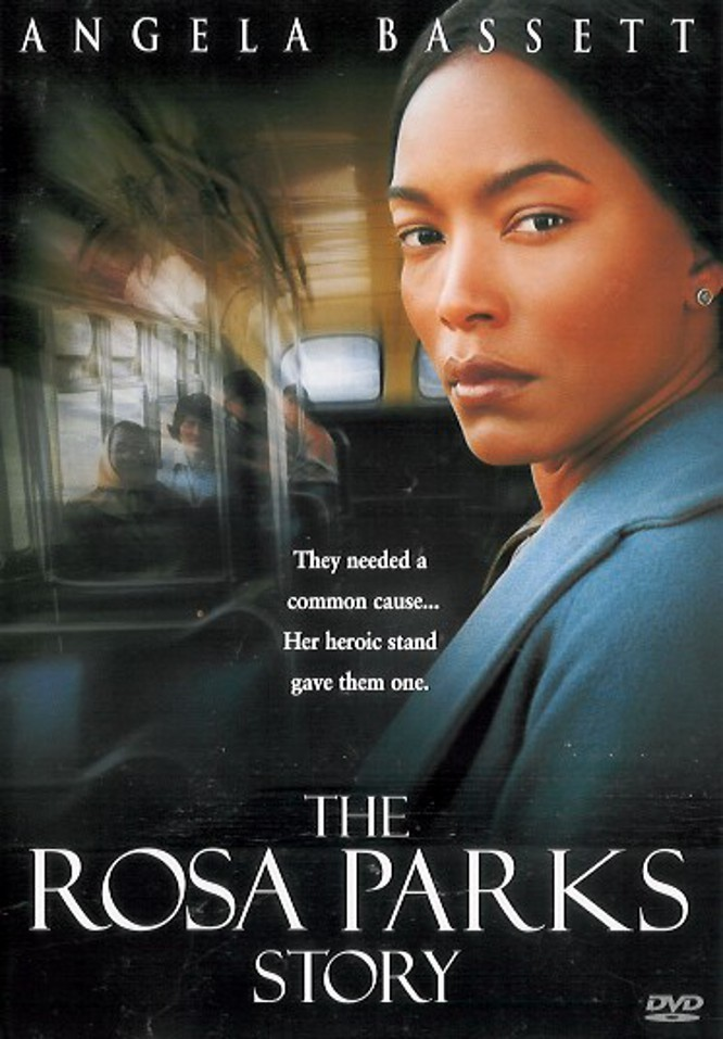 "Poster for the movie ""The Rosa Parks Story"""