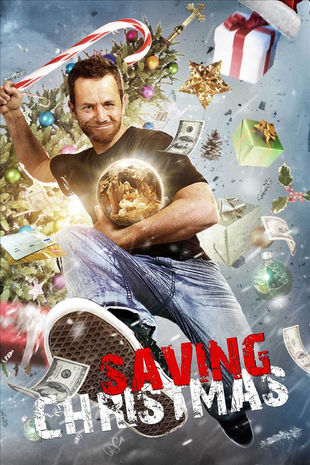 "Poster for the movie ""Saving Christmas"""