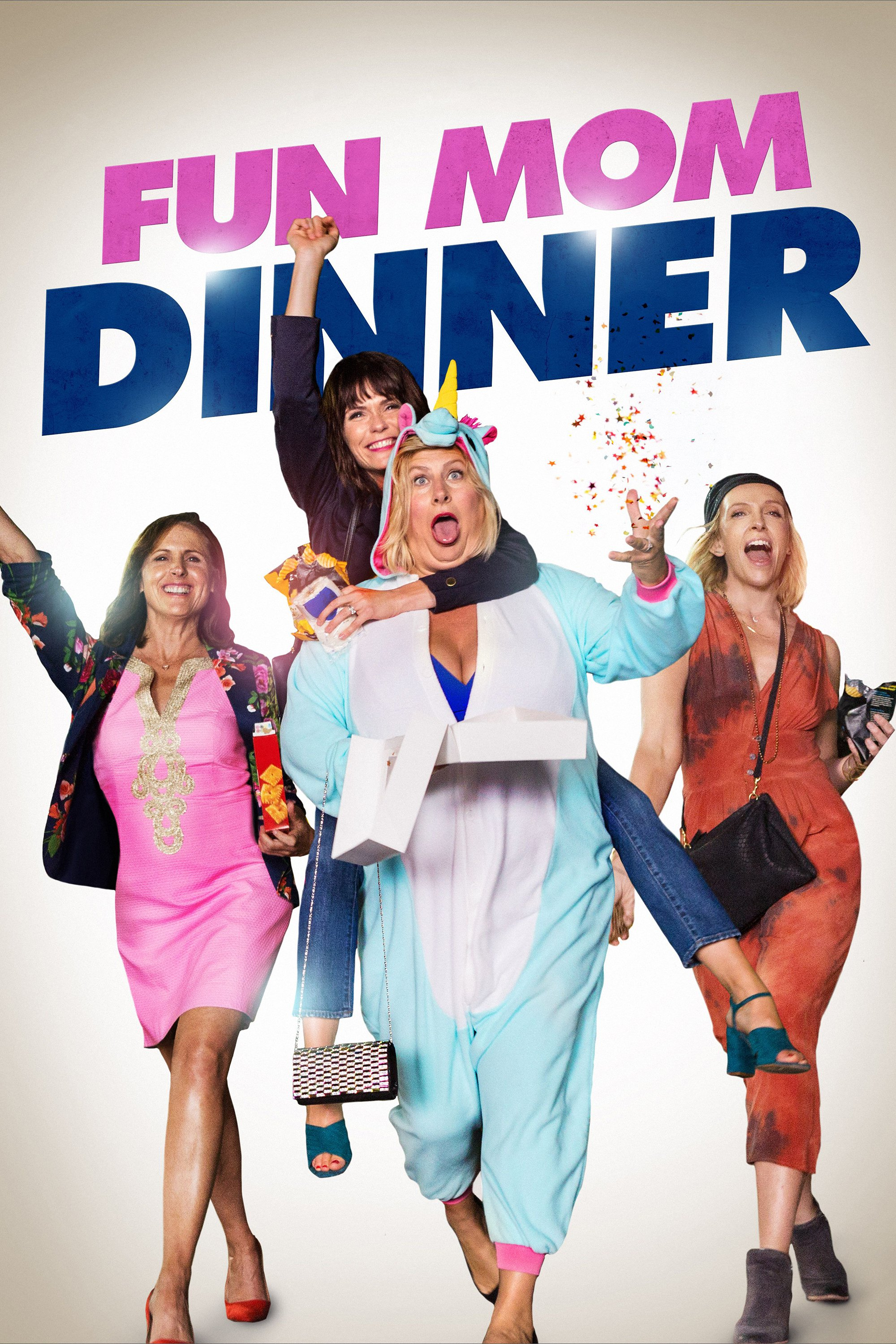 "Poster for the movie ""Fun Mom Dinner"""