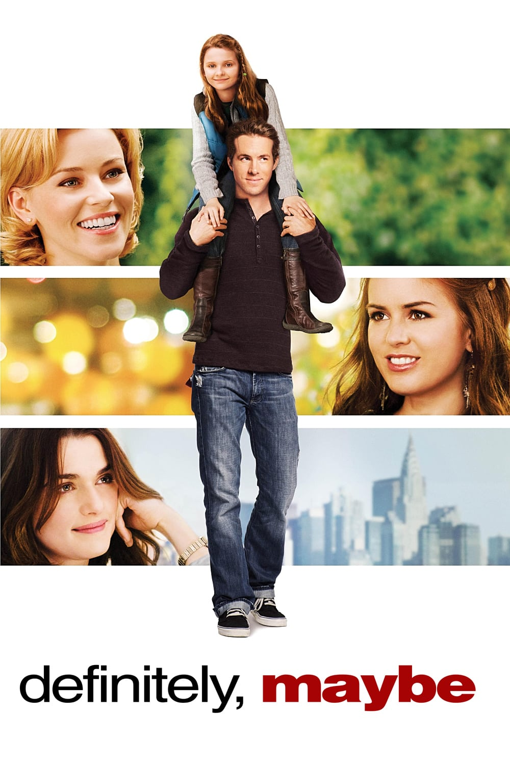 """Poster for the movie """"Definitely, Maybe"""""""