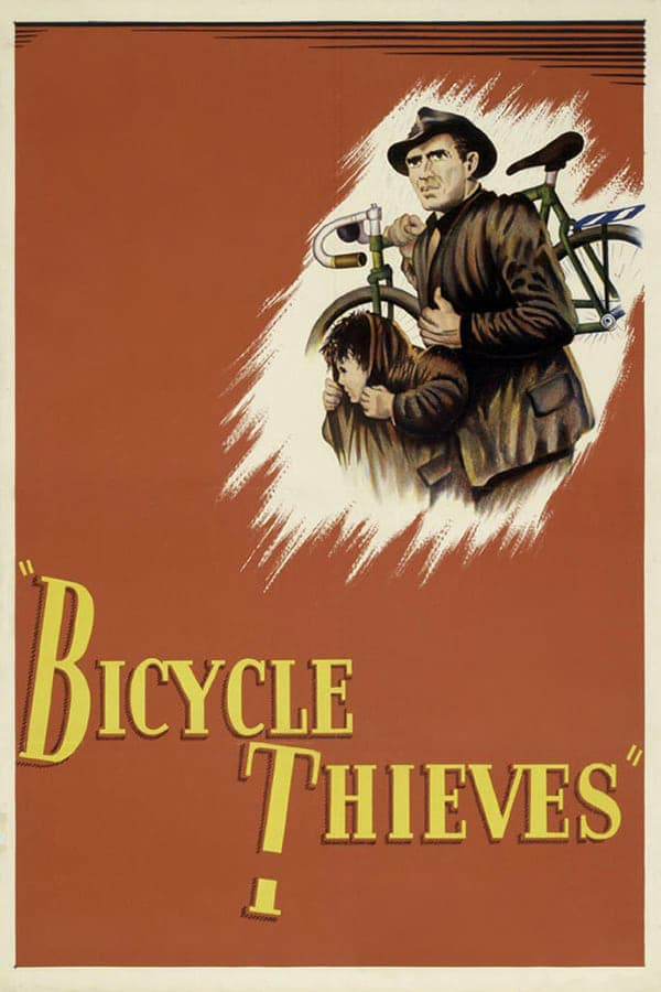 """Poster for the movie """"Bicycle Thieves"""""""
