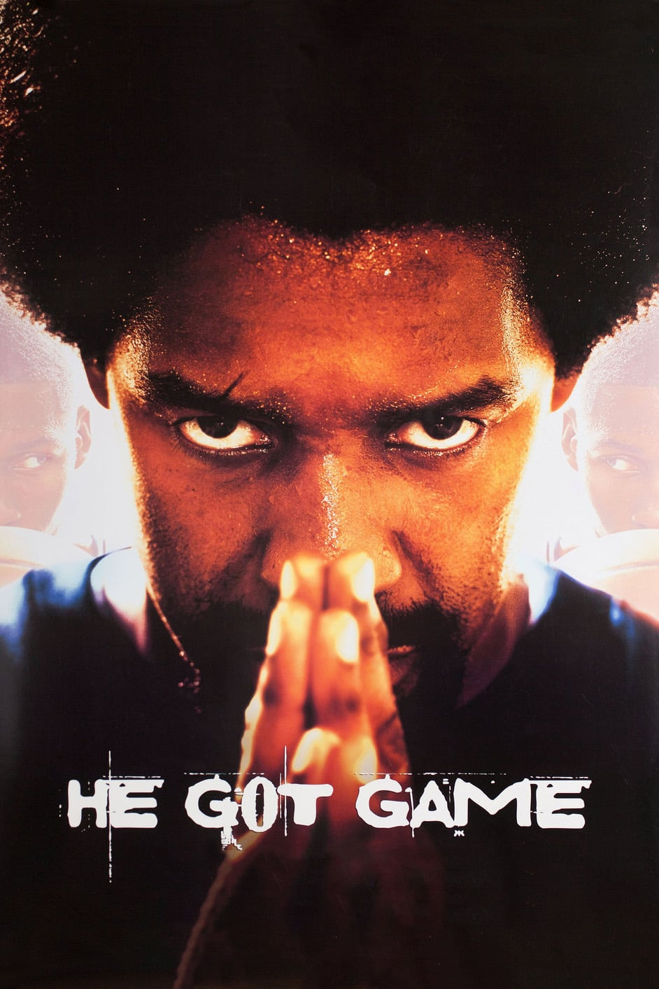 "Poster for the movie ""He Got Game"""