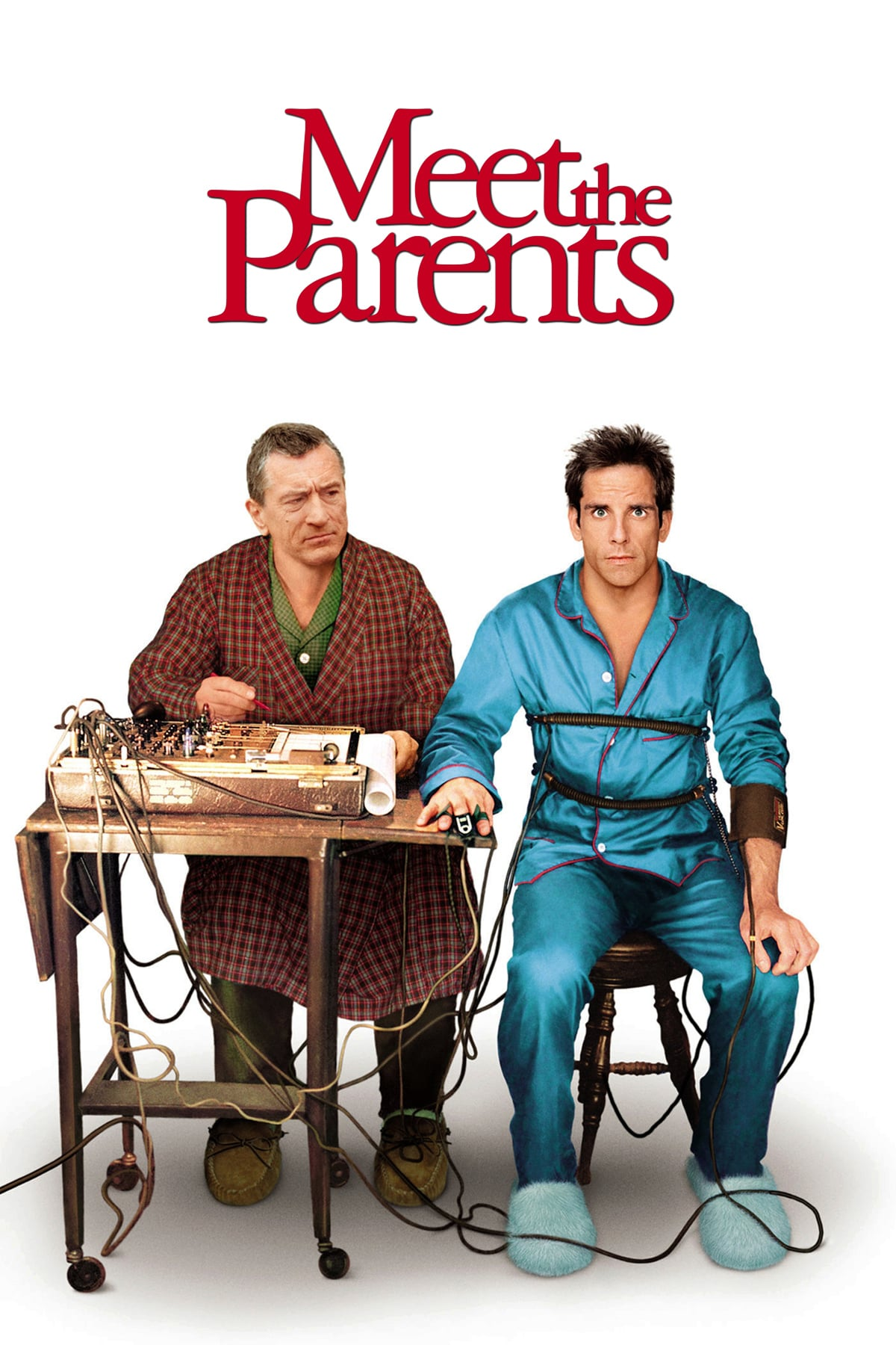 "Poster for the movie ""Meet the Parents"""