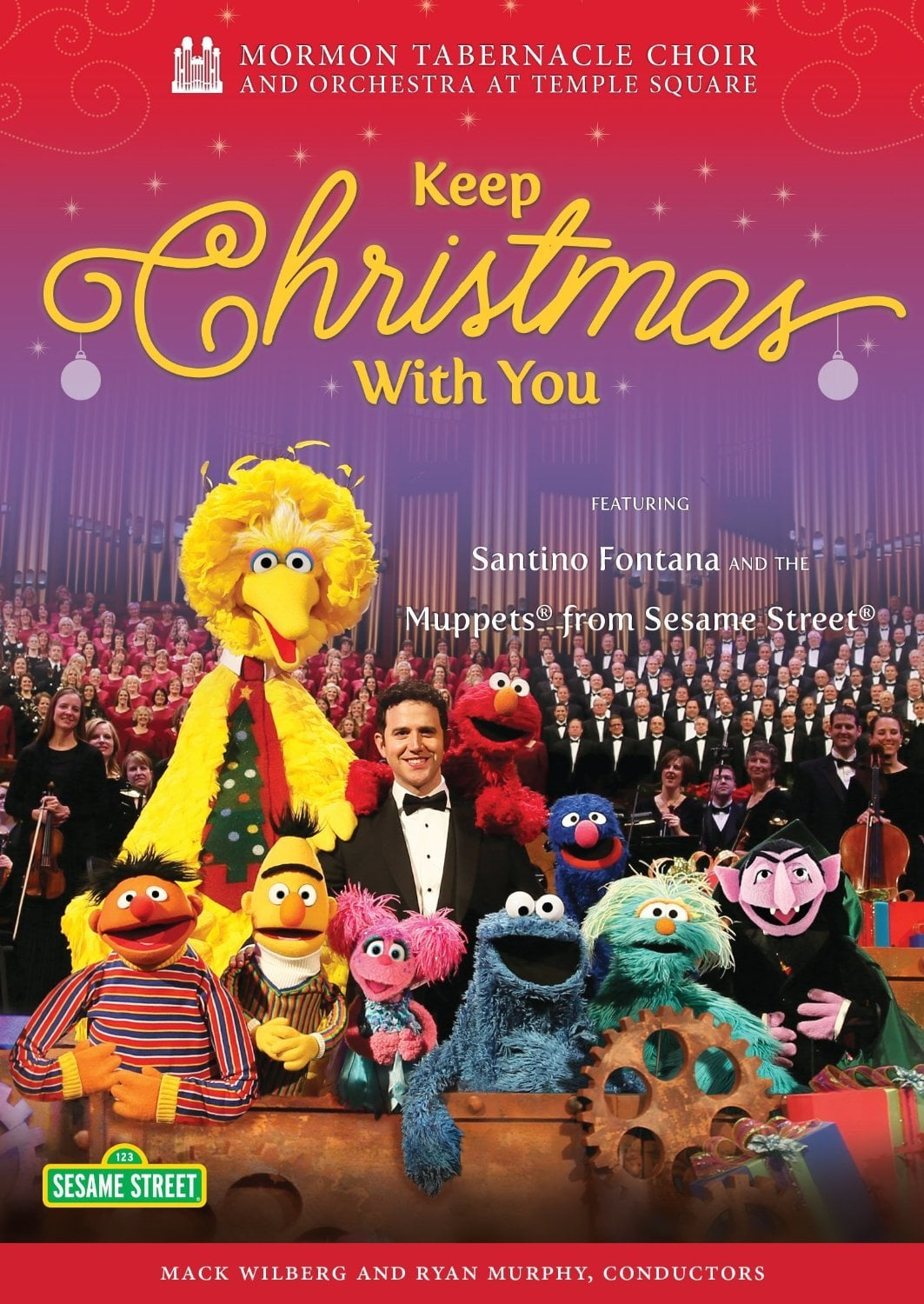 """Poster for the movie """"Mormon Tabernacle Choir: Keep Christmas With You"""""""