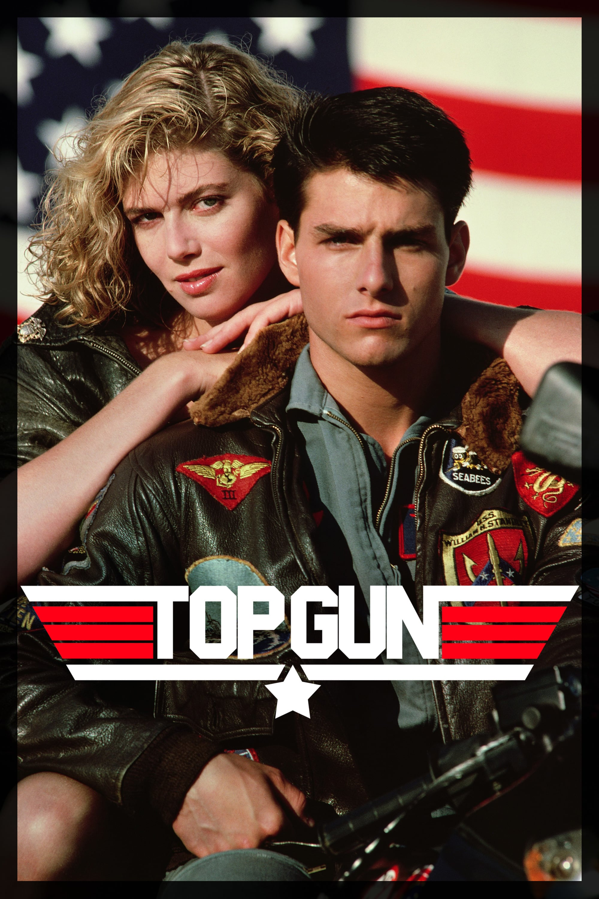 "Poster for the movie ""Top Gun"""
