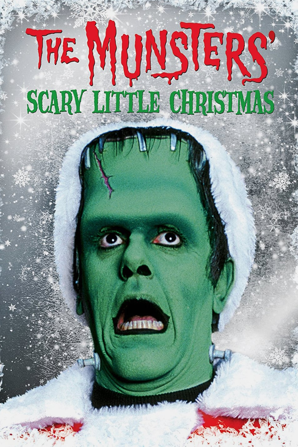 """Poster for the movie """"The Munsters' Scary Little Christmas"""""""