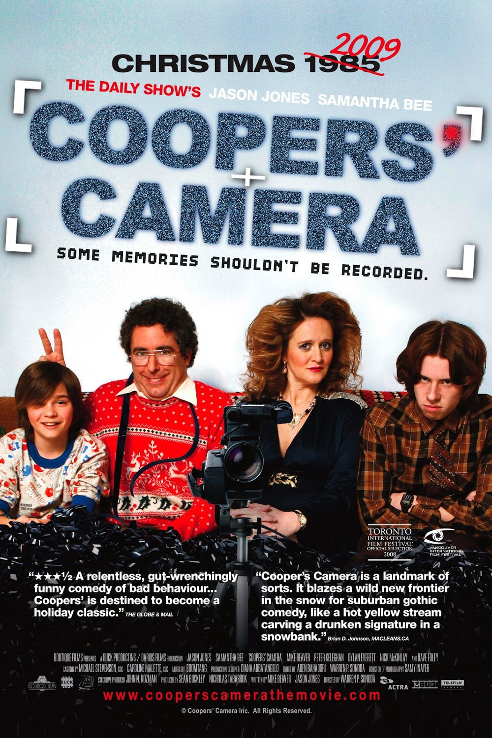"""Poster for the movie """"Coopers' Camera"""""""