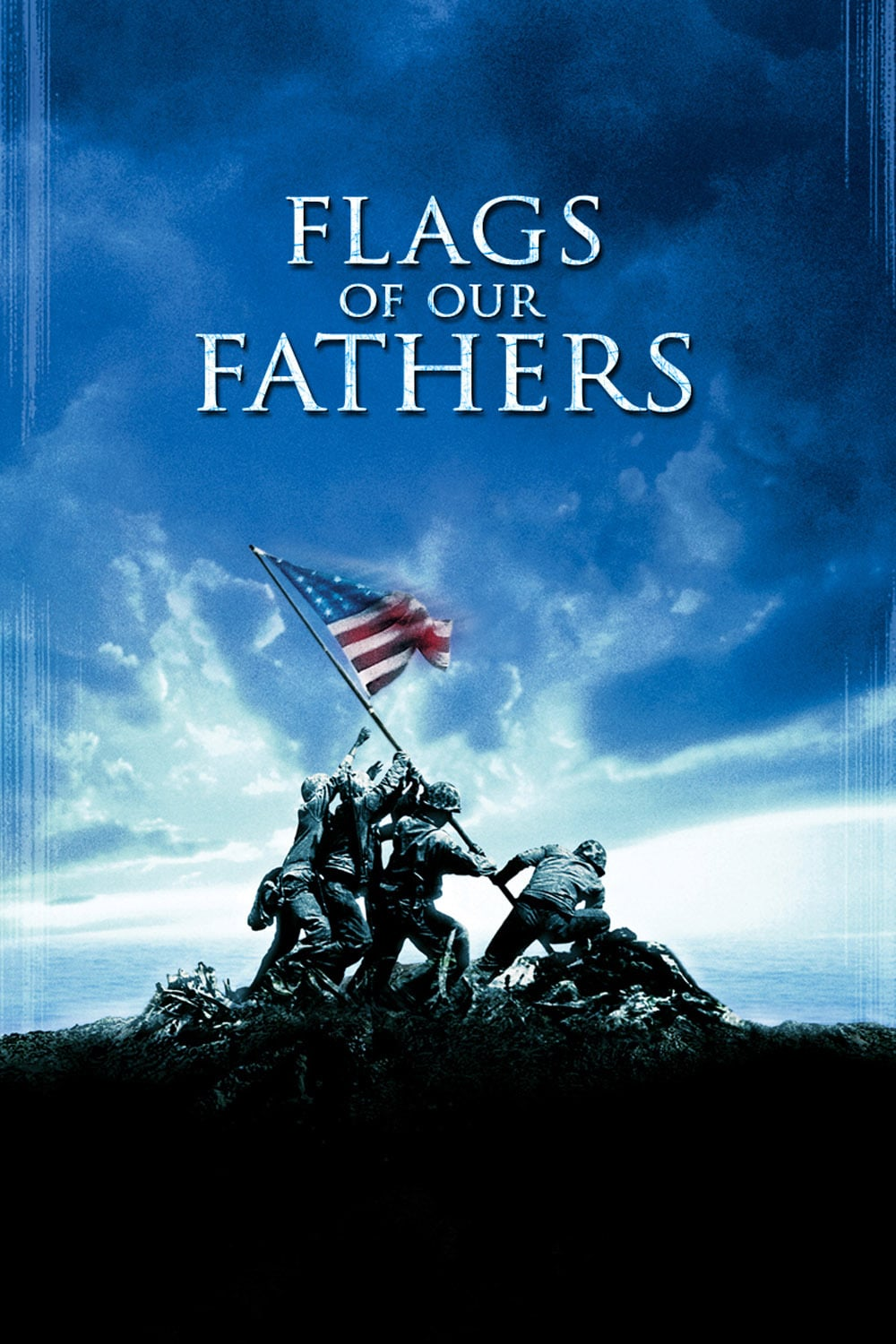 "Poster for the movie ""Flags of Our Fathers"""