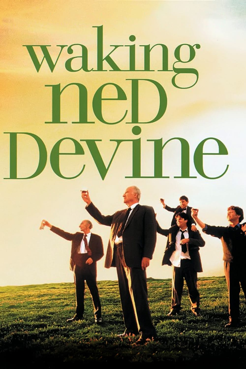 """Poster for the movie """"Waking Ned"""""""
