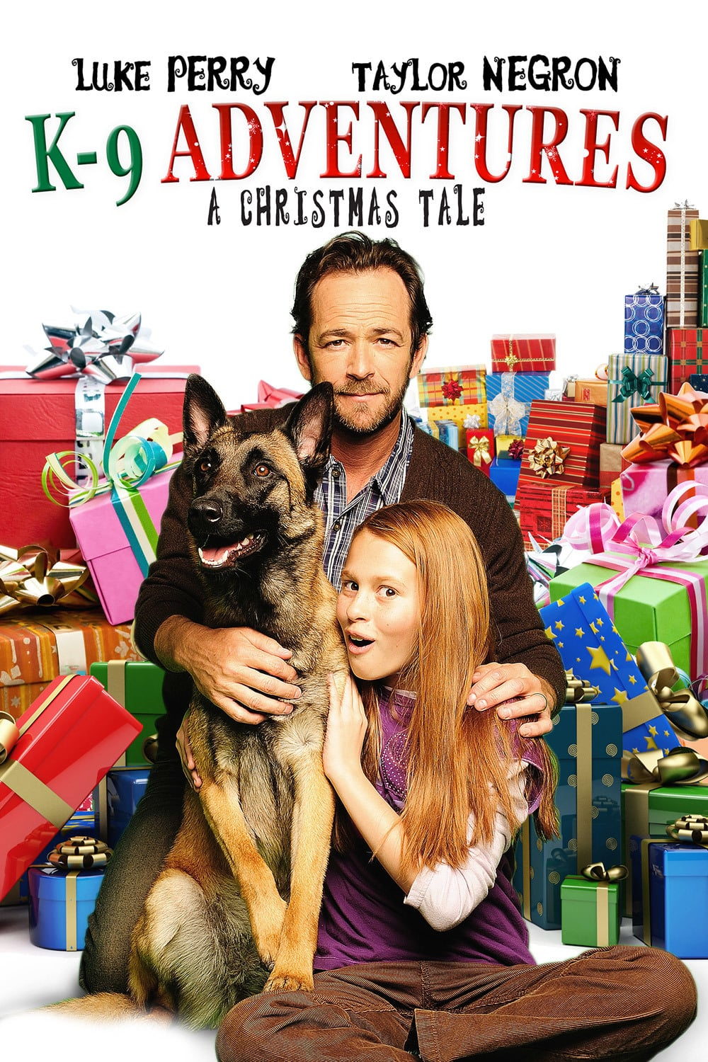 """Poster for the movie """"K-9 Adventures: A Christmas Tale"""""""