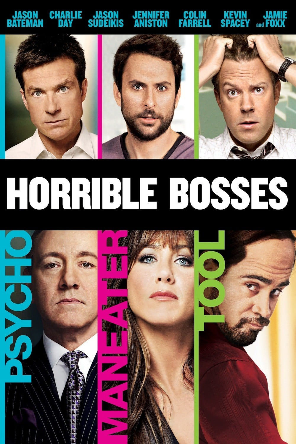 "Poster for the movie ""Horrible Bosses"""