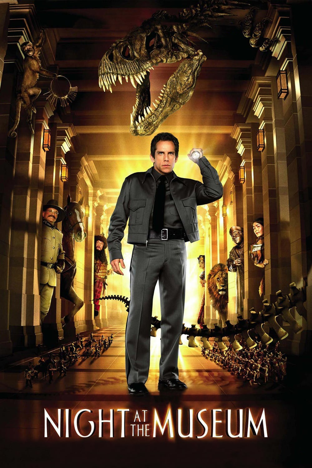 """Poster for the movie """"Night at the Museum"""""""