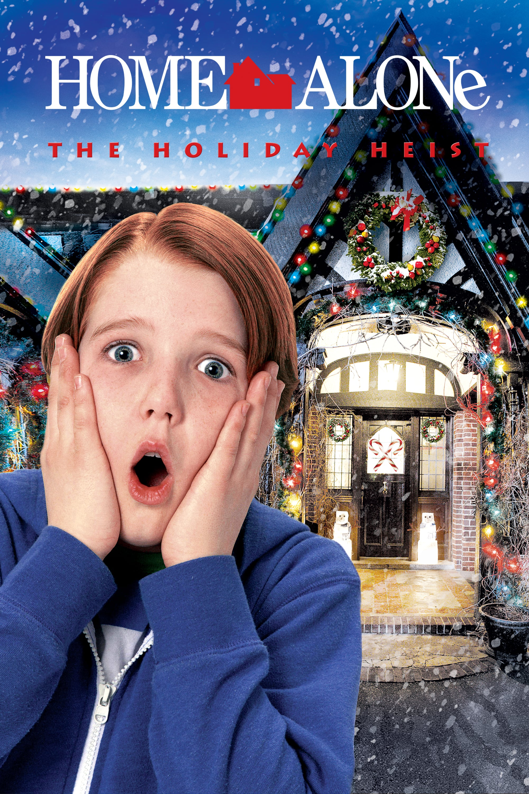 """Poster for the movie """"Home Alone 5: The Holiday Heist"""""""
