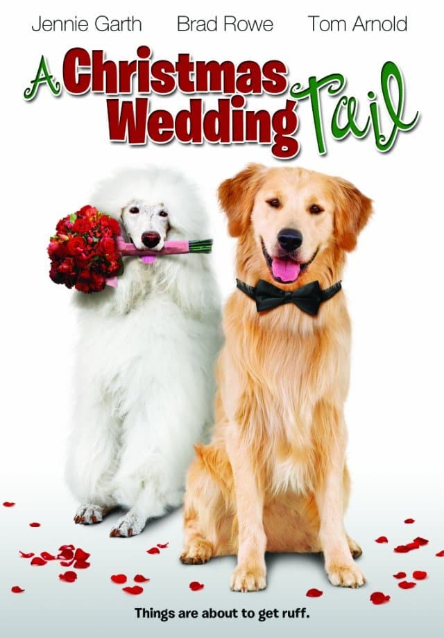 """Poster for the movie """"A Christmas Wedding Tail"""""""