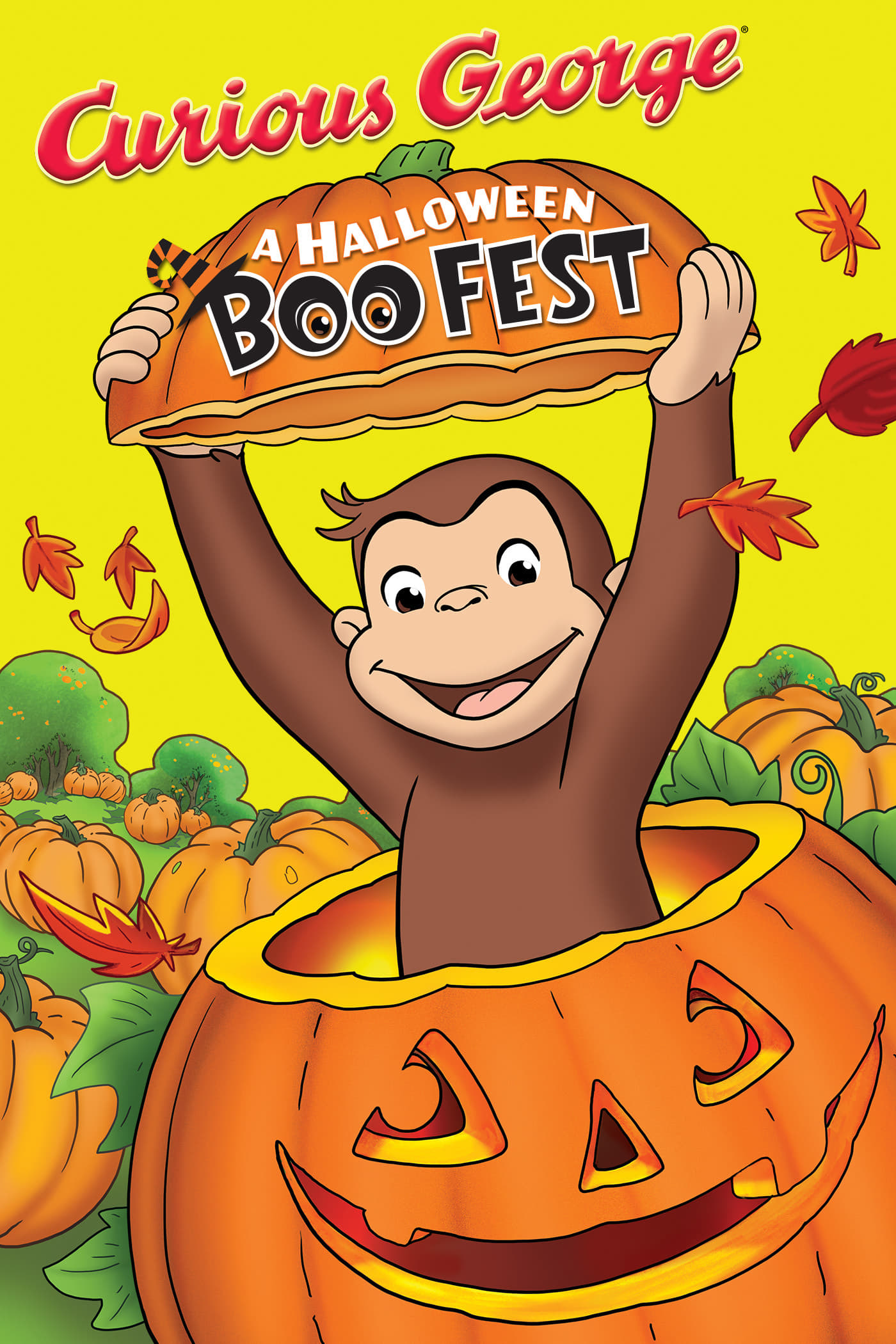 "Poster for the movie ""Curious George: A Halloween Boo Fest"""