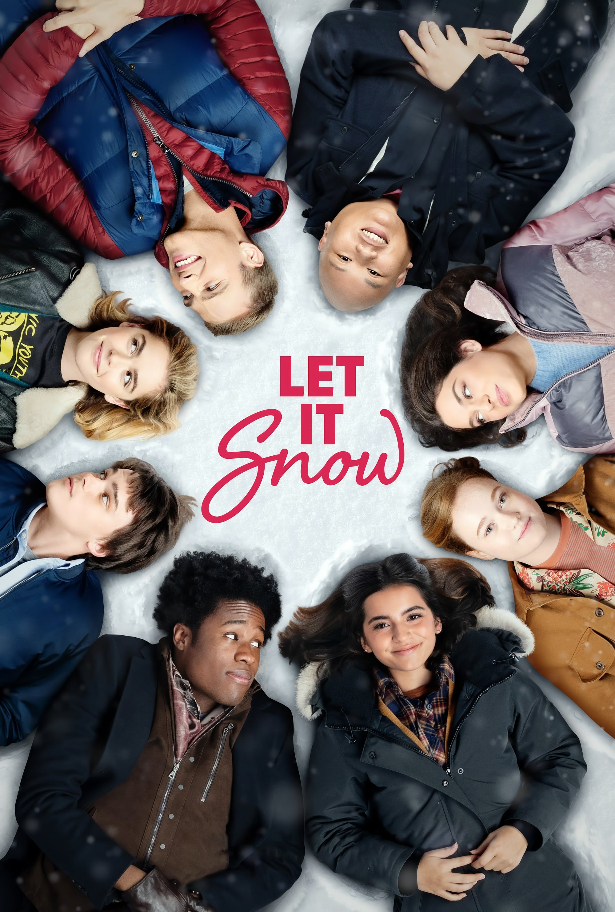 "Poster for the movie ""Let It Snow"""
