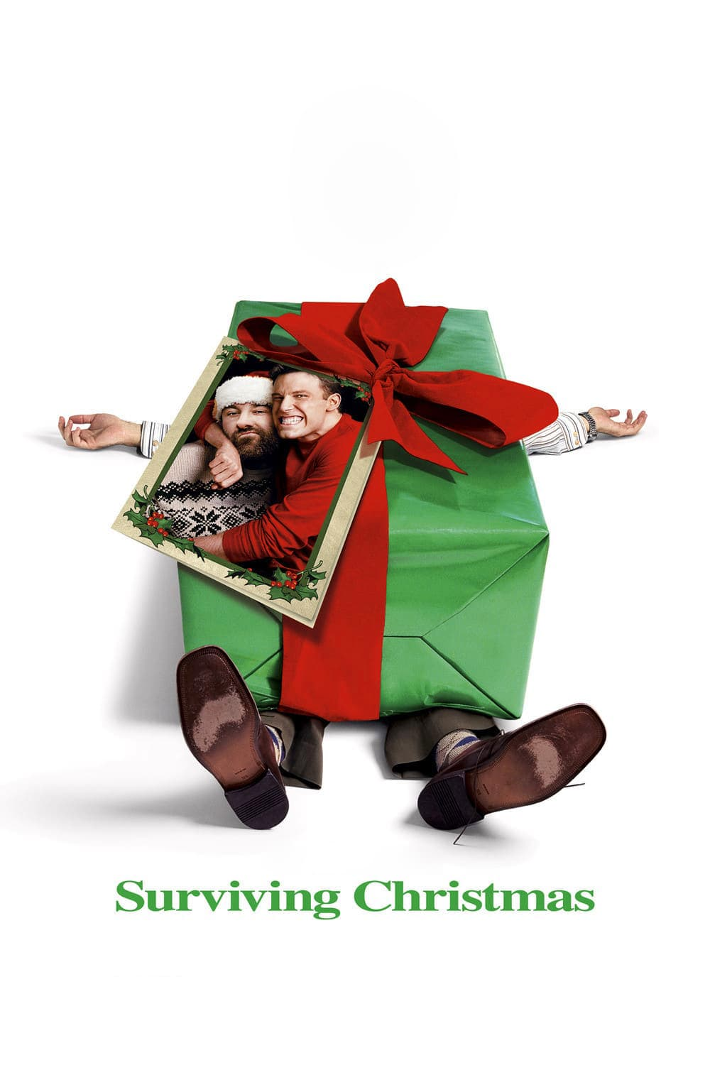 """Poster for the movie """"Surviving Christmas"""""""
