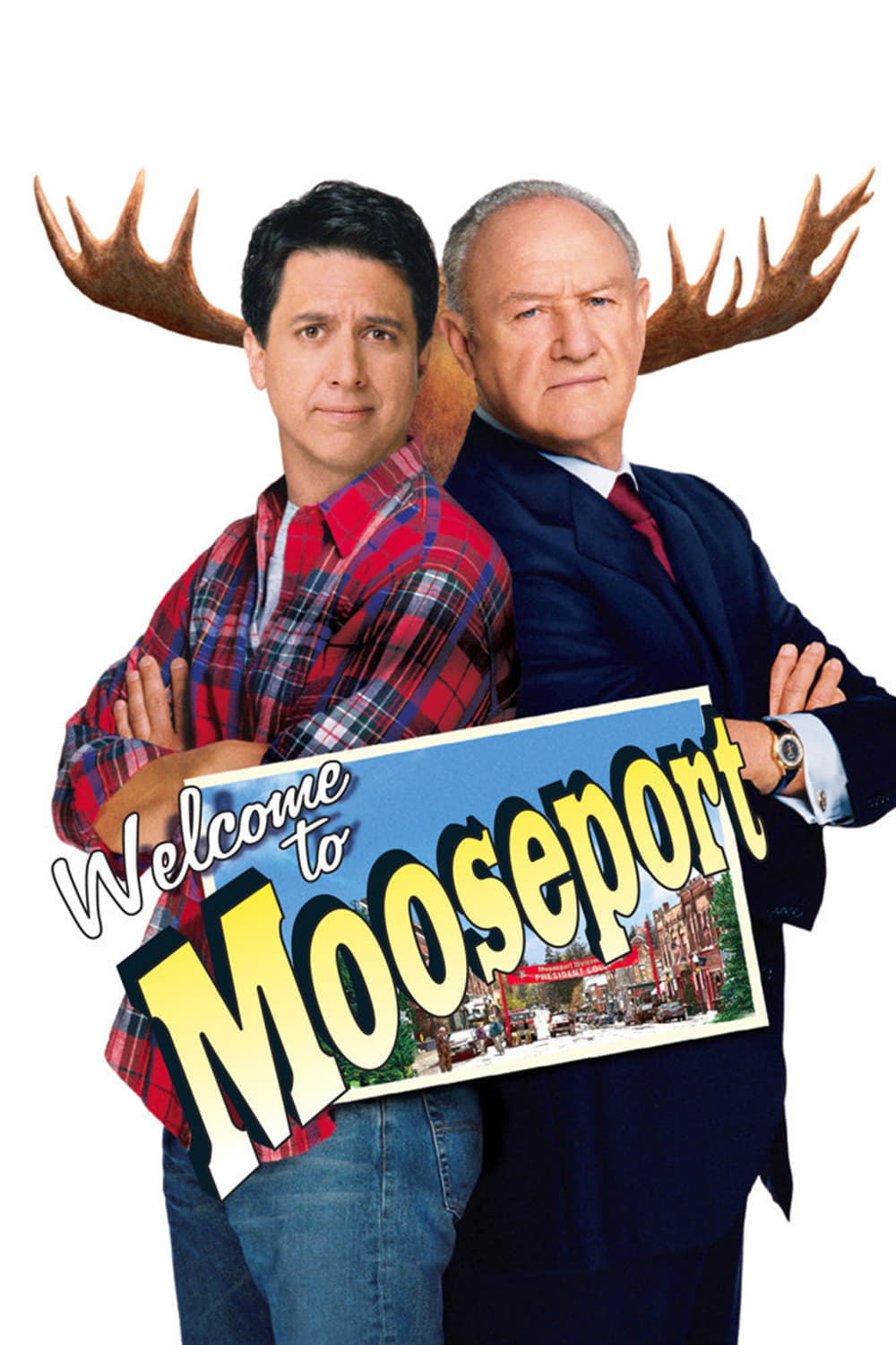 """Poster for the movie """"Welcome to Mooseport"""""""