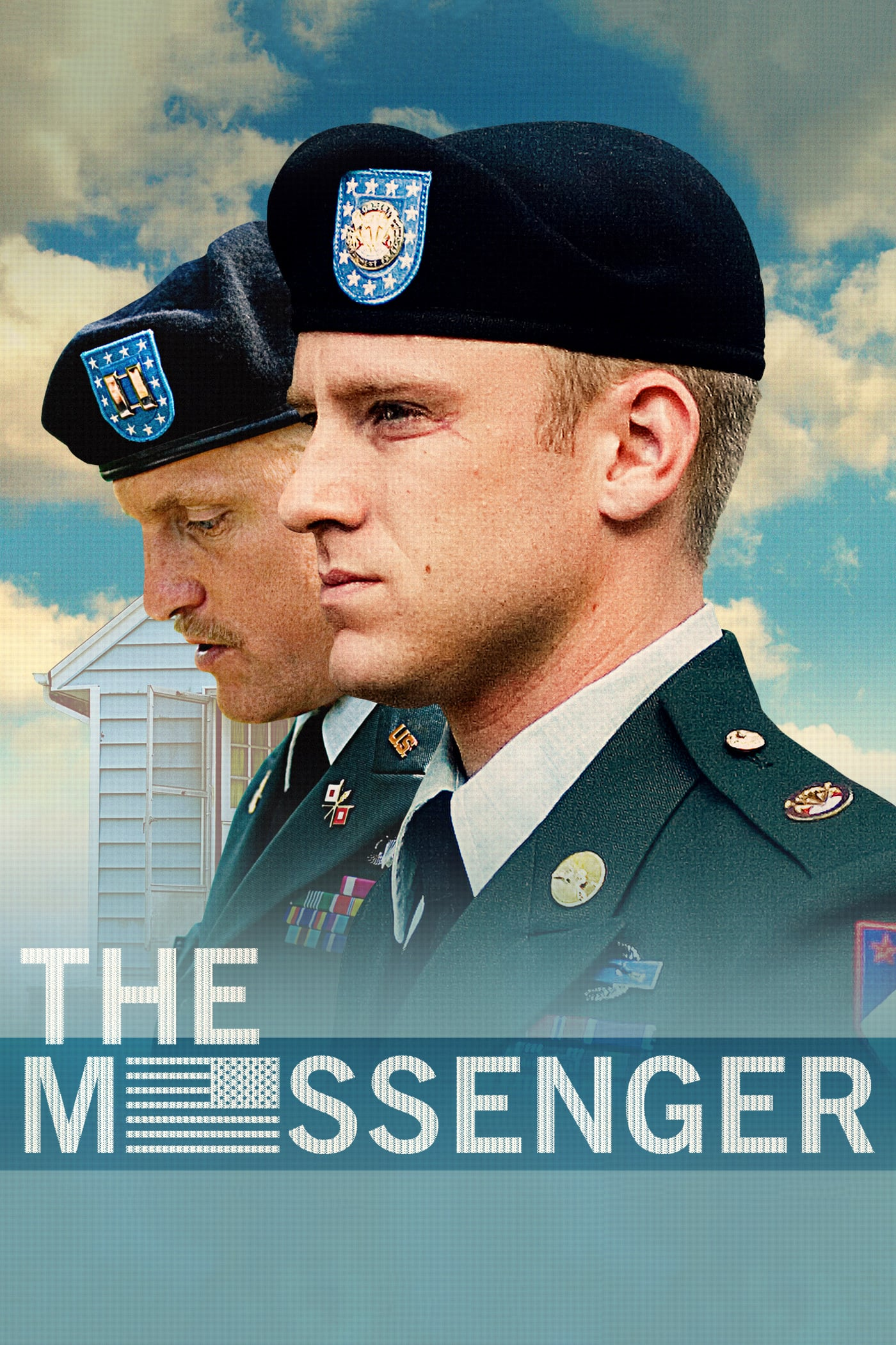 "Poster for the movie ""The Messenger"""