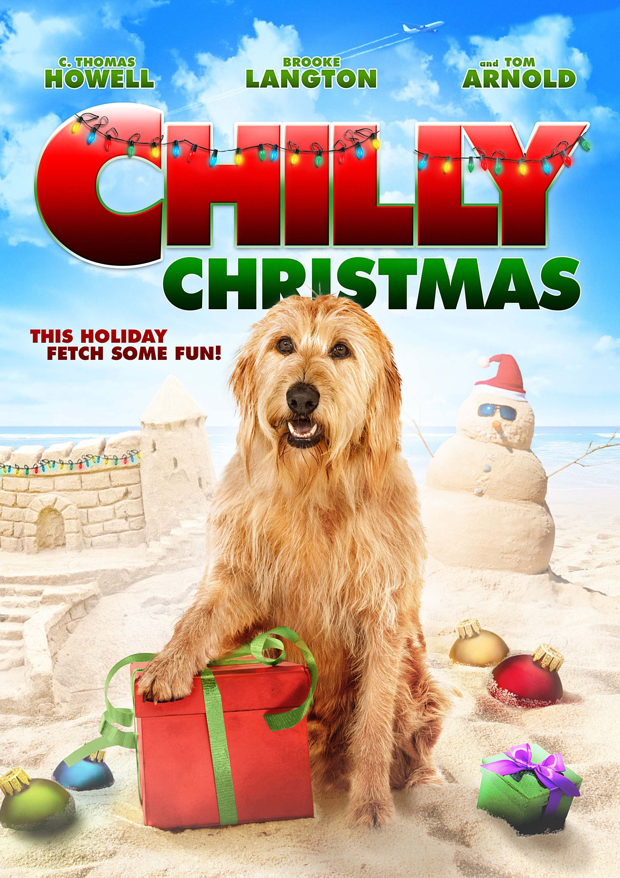 """Poster for the movie """"Chilly Christmas"""""""