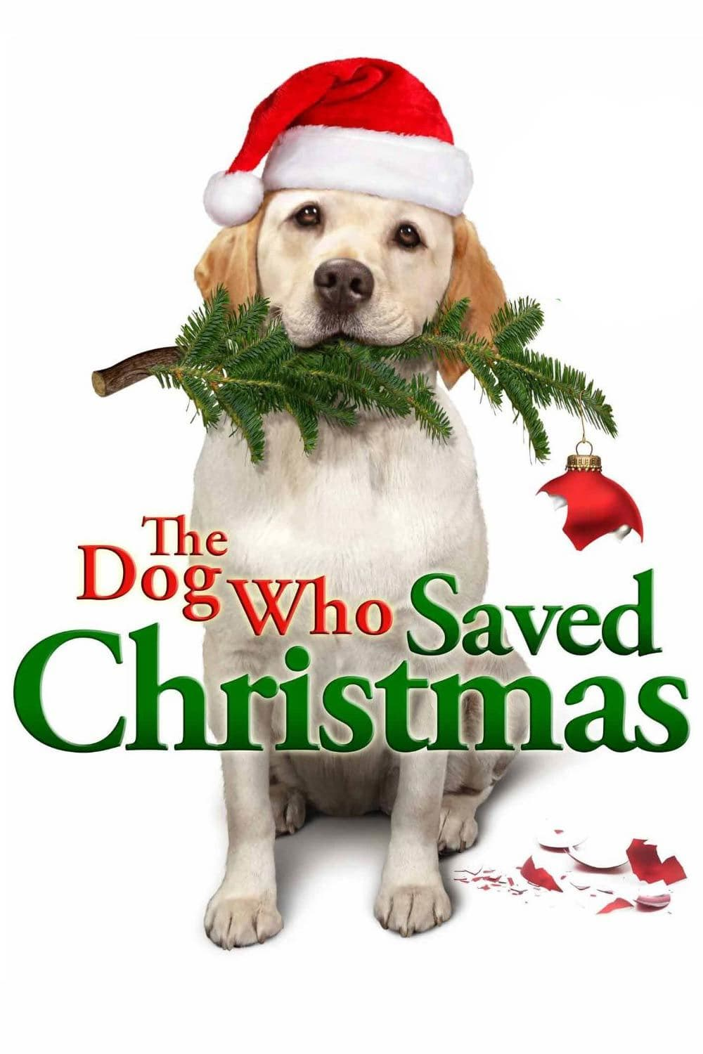 """Poster for the movie """"The Dog Who Saved Christmas"""""""